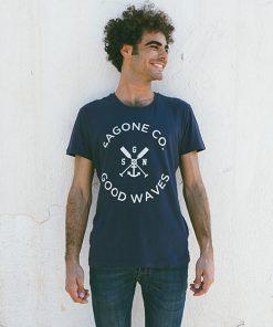 Camiseta Alayor Azul