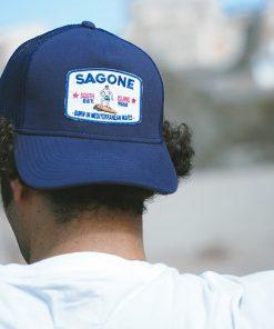 Mütze Laga Blau