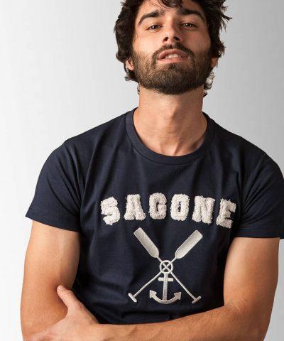 T-shirt Menorca Bleue
