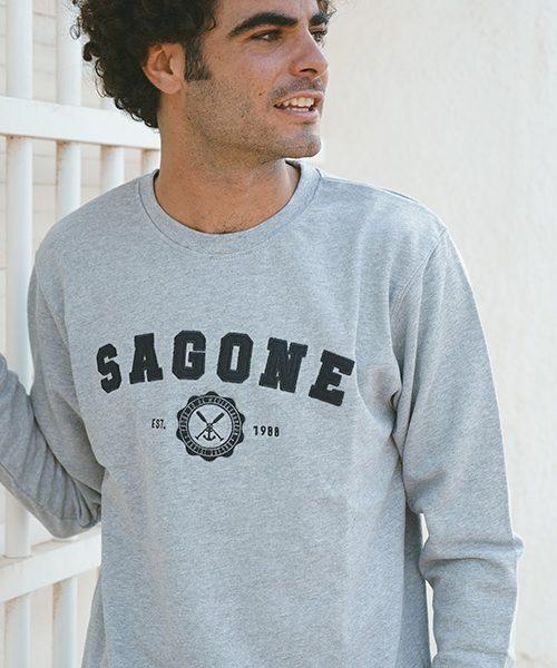 Sweatshirt Mahón Gris