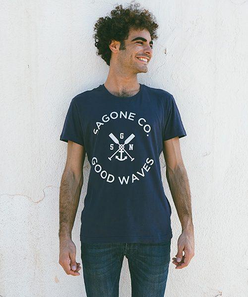 T-shirt Alayor Bleue