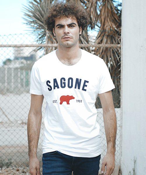 T-shirt Macaret blanche