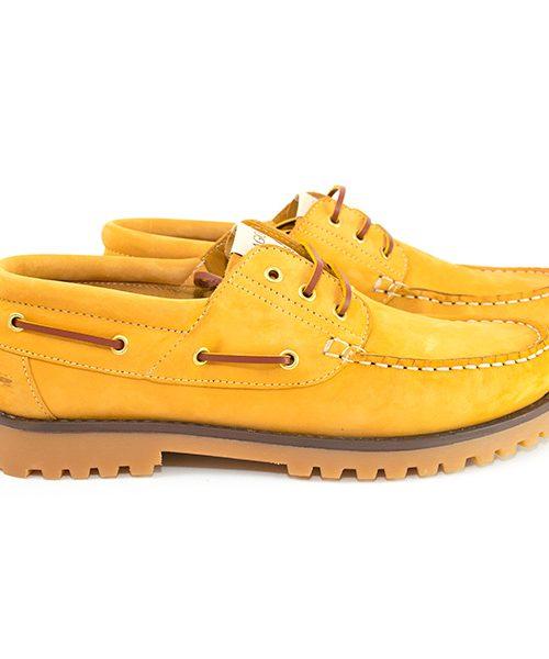 Scarpe da barca Sagone Cammello Lui/Lei