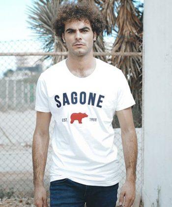 White T-shirt Macaret